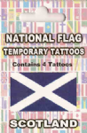 Scotland Country Flag Tattoos.